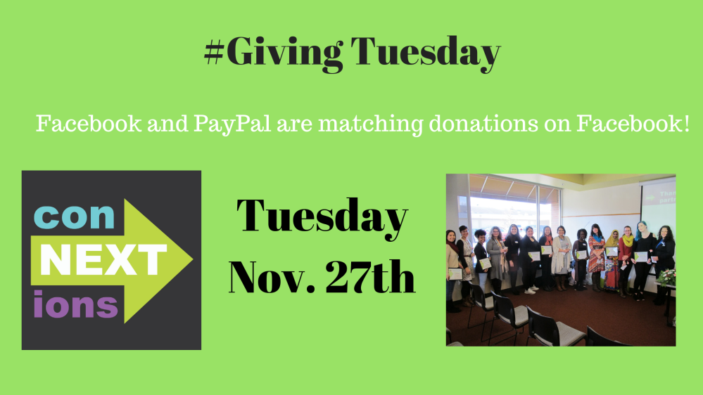 #Giving Tuesday 2018